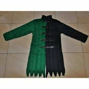 Medieval Armour Thick padded Authentic Colour Cotton Gambeson Halloween