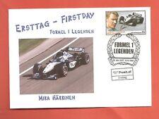 FDC 1 Wert aus Block Formel 1 Legenden Mika Häkkinen ETSSt 1010 Wien 29.05.2007