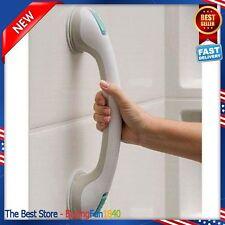 Bath Shower Grip Handle. Bathroom Suction Grab Bar Safety Cup Rail Tub Support