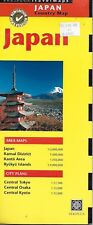Map of Japan, by Periplus Maps (2000 First Edition)