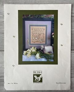 All Is Well - Shepherds Bush Cross Stitch - Chart Only