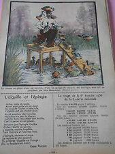 Humour Chasse au gibier d'eau des Canards pas vraiment sauvage dessin Print 1934