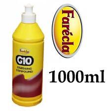 Farecla G10 1000ml Fine Liquid Finishing Rubbing Compound Polish Bodyshop 1lt