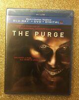 Purge, The (Blu-ray+DVD+Digital HD, 2013, 2-Disc Set) NEW