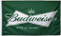 Budweiser Beer Promotion Advertising Banner Flag 3x5 Sign Tiki Wall Decor Bar