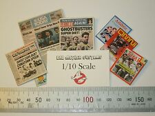 Ghostbusters 1/10 scale Magazines (six) from Movie Montage - magazines open!