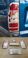 Ford TRANSIT MK6 MK7 2000-2013 Chrome Rear Lamp &Door Handle Cover 4Door S.Steel