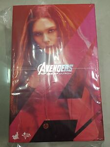 🔥 Hot Toys MMS 301 Avengers Age of Ultron AOU Scarlet Witch Elizabeth Olsen NEW