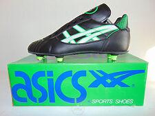 Vintage 90 ASICS Exploit ST 41 Shoes Calcio Soccer Zenga 6 Studs Baresi Mancini