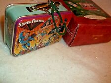 2000 Hallmark Keepsake Christmas Ornament Super Friends Lunch Box Wonder Woman