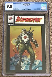 Bloodshot #1 CGC 9.8 WP Chromium 02/93 Barry Windsor-Smith Valiant New Case