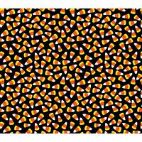 Springs Creative Halloween Candy Corn Black 100% cotton fabric by the yard