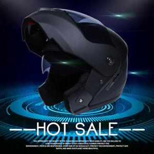 DOT Modular Helmet Motorcycle Helmet Flip Up Full Face Dual Visor Motocross M
