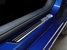 For VW Jetta Accessories Stainless Steel Door Sill Protector Scuff 2011-2018