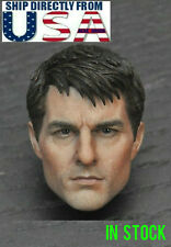 1/6 Scale Tom Cruise Head Sculpt A For Hot Toys PHICEN Male Figure U.S.A. SELLER