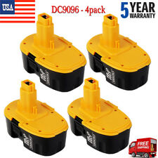 4x Dc9096 18V Battery Dc9096-2 Ni-Cd Drill Power Tools for Dewalt All 18V Tools