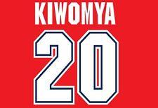 Kiwomya #20 Arsenal Camisa de fútbol local para hogar 1995-1997