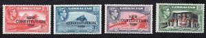 Gibraltar 1950 Set of Stamps  MI#129-132 MH CV=7€