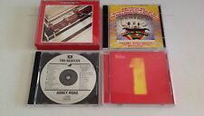 Beatles Music CD Lot; 1962-1966 Red Album, Magical Mystery, Abbey Road, #1 Hits