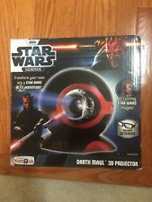 STAR WARS DARTH MAUL 3D PROJECTOR INCLUDES 3D GLASSES - NEW