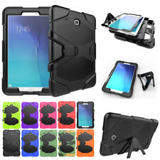 Military Heavy Duty Shockproof Armor Stand Case Tablet Cover For Samsung Galaxy