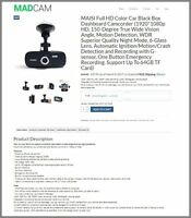 USA - AUTO DASHCAM Website|FREE Domain|Make$$$|100% GUARANTEED or Pay NOTHING!