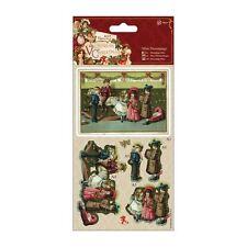 Papermania Mini Decoupage-Victoriano De Navidad-Escena