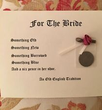 Authentic Six Pence for the Bride A Great Tradition & Perfect Bride's Gift