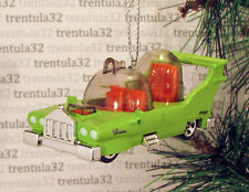 Simpsons THE CAR BUILT FOR HOMER BY POWELL MOTORS GREEN CHRISTMAS ORNAMENT XMAS
