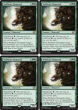 4x WOLFBRIAR ELEMENTAL Commander 2014 MTG Green Creature — Elemental Rare