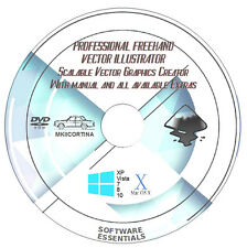 Professional Freehand Vector Illustration Software Suite + FREE EXTRAS & MANUAL!