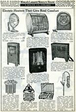 1940 Print Ad Electric Heaters Everhot KM Kwikway, Insect Death Lamp, Violet Ray