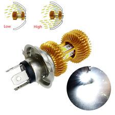 Aluminum 18W H4 Motorcycle LED Headlight Bulb High/Low Light 4 Sides COB Chip 1x