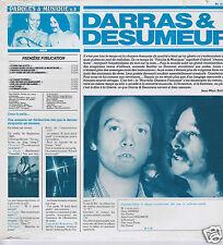 LP NEUF DARRAS & DESUMEUR PAROLES & MUSIQUE No 8