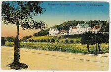 Romania, Hungary, Brassó, Brasov, Street Scene, Pellegvársor, Old Postcard