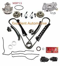 04-08 F150 F-250 5.4L Timing Chain Kit w/ Phaser Solenoid Oil Water Pump Gasket