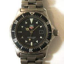 Auth TAG Heuer Professional 2000 973.015 Silver Womens Wrist Watch