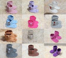 Wholesale Lot 10 Knit Crochet Cotton Newborn Baby Child Colorful Martin Boots