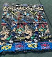 Vintage 1998 WCO NWO Twin Bedding Set New World Order Wrestling Macho Man Hogan