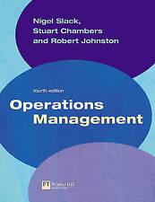 """Operations Management"" Slack Chambers Johnston 4th ed"