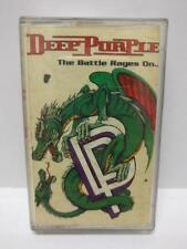 Mega Rare Deep Purple The Battle Rages On... 1993 Singapore Cassette (CT208)