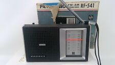 Vintage Panasonic Portable FM AM Radio RF-541