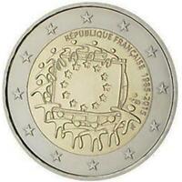 2 euro Francia 2015 Bandiera Europea