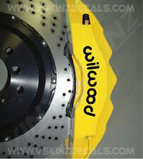 Pinza de freno de fundido Premium 6x wilwood Calcomanías Pegatinas Porsche Ford Subaru Fiat