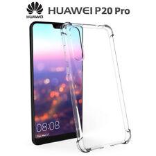 Funda Gel TPU Transparente Antigolpes para Huawei P20 Pro