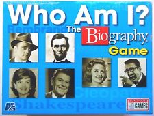 Who Am I? The Biography Board Game NEW By Endless Games