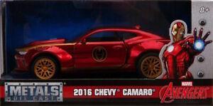 Iron Man - 2016 Chevy Camaro SS 1:32 Hollywood Ride