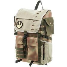 NEW Star Wars ROGUE ONE Rebel Commando Backpack ENDOR Bookbag Bio World