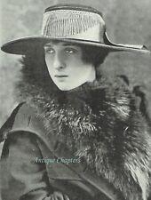 Donna Ortensia Di Mignano 1916 Emil Otto Hoppe Photo Article D238
