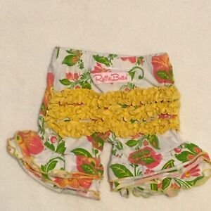 60s Plisse Ruffle Bottom Sun SuitsBubbles ruffle bum Vintage 50s set of 3 2T made by Little Craft